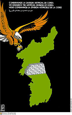 Political Cuban Poster North Korea Usa Eagle Asia 32 Revolution Art Design