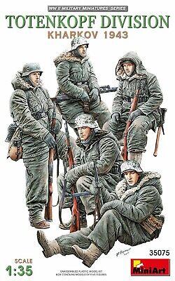 MINIART 35075 Totenkopf Division Kharkov 1943 (5 Figuren) in 1:35