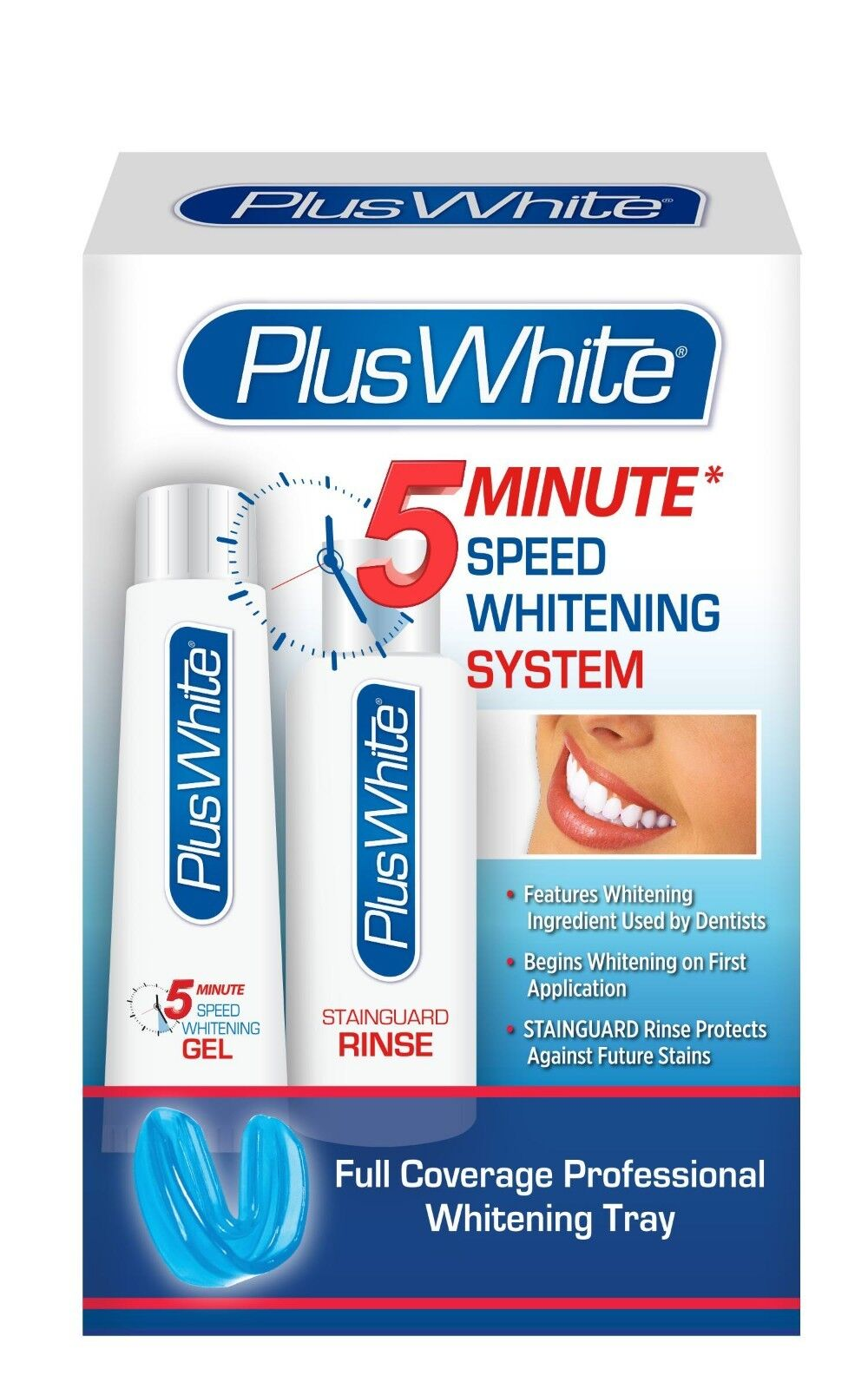 Plus White 5 Minute Premier Teeth Whitening Speed Gel System / Free Shipping