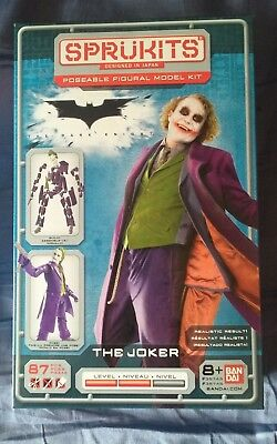 Batman The Dark Knight The Joker - SPRUKITS THE JOKER (HEATH LEDGER) ACTION FIGURE BATMAN THE DARK KNIGHT MODEL KIT