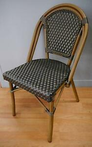 New Cafe Bistro Rattan Paris Dining Chairs Outdoor Furniture Melbourne CBD Melbourne City Preview