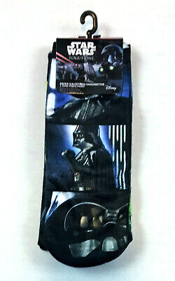Disney Star Wars Rogue One Adult Ankle Socks, 3-Pack, Shoe Size 9-11 - Adult Star Wars Shoes