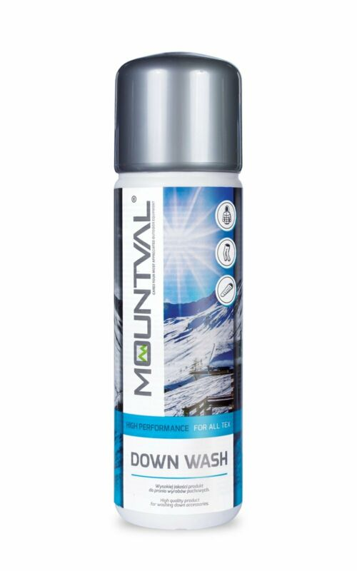 Mountval Down Wash, Wash-In Cleaner For Down-Filled Outdoor Clothing and Gear