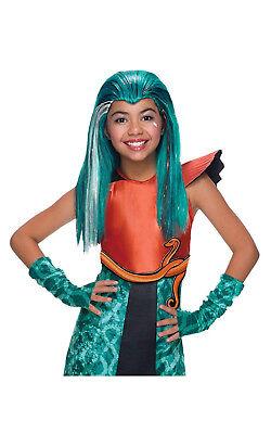 Monster High Nefera De Nile Kostüm (Rubie's 3 36435 Nefera de Nile Monster High Kinderperücke Karneval Perücke)