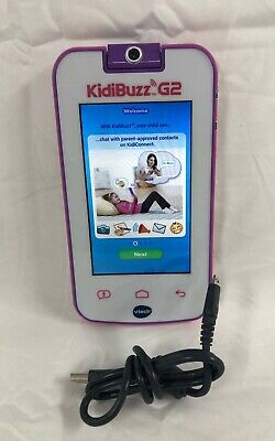 VTech KidiBuzz G2 Smart Device Learning Toy for Ages 4 to 9 in PINK (80-186650)