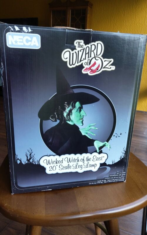 """NECA NEW, RARE DISCONTINUED WIZARD Of OZ 20"""" LEG LAMP, WICKED WITCH OF THE EAST"""