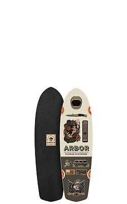 Arbor Pocket Rocket Artist Longboard Skateboards Deck Only with Black Griptape
