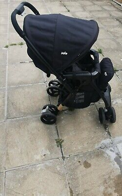 Joie Mirus Scenic pushchair pram baby buggy Stroller black