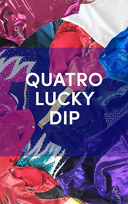 Quatro Gymnastics Girls Short Sleeve Leotard LUCKY DIP 36
