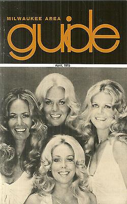 April 1975 Milwaukee Area Guide Wisconsin