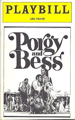 1976 Playbill Porgy & Bess Clamma Dale at The URIS Theatre