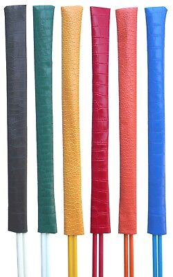 Mercia Golf's Alignment Stick Covers In Crocodile Leather