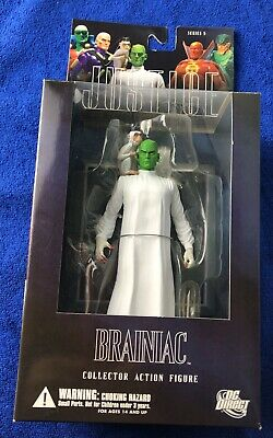 Brand New Sealed Justice League Alex Ross Series 5 Brainiac Action Figure