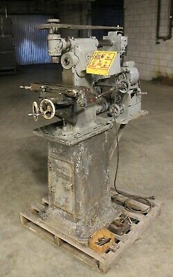 Burke Horizontal Vertical Milling Machine 3-34 X 16 Table 1 Phase Model Maker