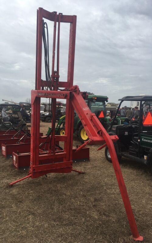 New Holland model 90 hay bale handler stacker