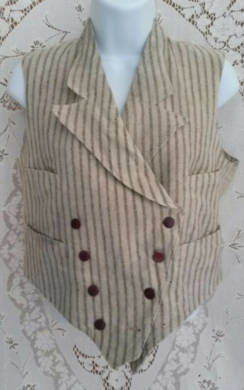 Antique VEST🌿Vtg 1800