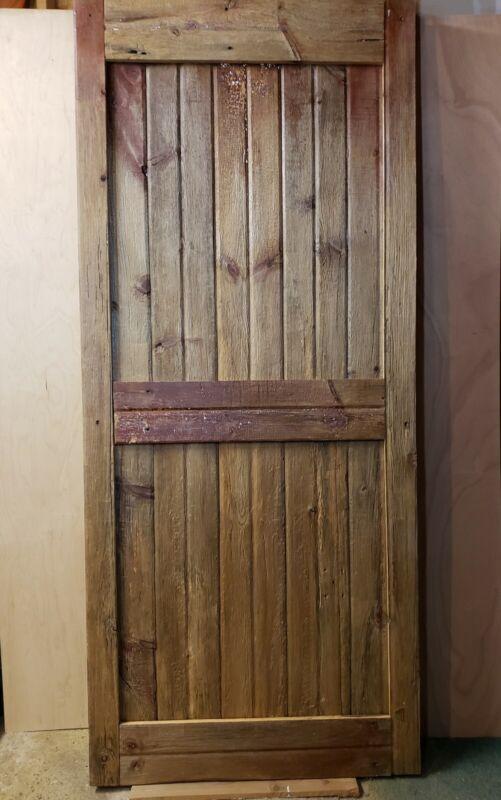 Sliding Barn Door Custom made from Reclaimed Barn Wood Over 100 years old