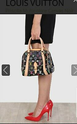 Louis Vuitton Black Monogram Multicolor Bag
