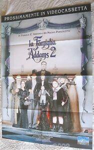 LA FAMIGLIA ADDAMS 2 Addams Family Values (1993) LOCANDINA ORIGINALE 82,5 X 58 - Italia - L'oggetto può essere restituito - Italia
