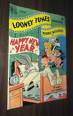LOONEY TUNES & MERRY MELODIES #100 -- Feb 1950 -- Dell -- G/VG Or (100 Best Cartoon Characters)