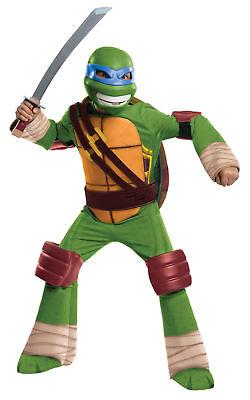 Teenage Mutant Ninja Turtles Leonardo Deluxe Child Costume Rubies COSPLAY ()