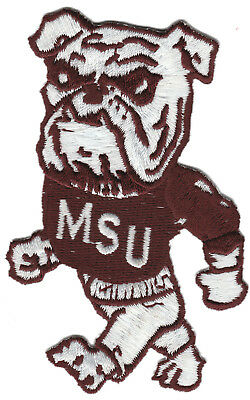 Msu Mississippi Staat Bulldogs NCAA College Vintage 9.8cm Maskottchen Team
