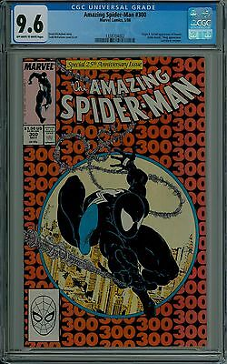 The Amazing Spider-Man #300 CGC 9.6 NM+ near mint VENOM McFarlane Marvel comics