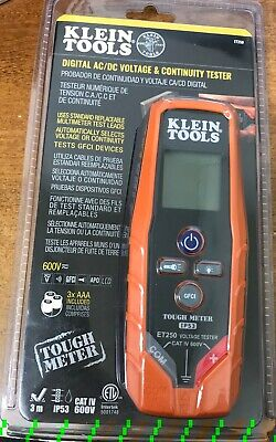Klein Tools Digital Acdc Voltage Continuity Tester Et250