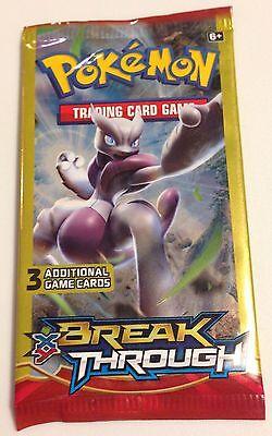 Pokemon Unopened Factory Sealed Xy Break Through Dollar Tree Booster Pack