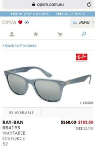 94e4df516a MENS RAYBAN RB8310 014  47 73 BRAND NEW IN BOX