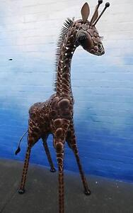 New Tall Metal Madagascar Giraffe Huge Statue Animal Decor Melbourne CBD Melbourne City Preview