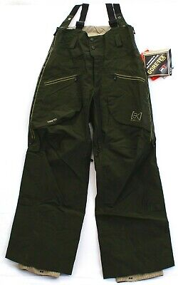 Burton 3l Pant (Burton AK 3L Skid Hi Top Gore-Tex Waterproof Snowboard Ski Snow Pants Men's NWT)