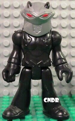"Imaginext Aquaman Justice League DC Super Friends loose 3"" figure *BLACK MANTA*"