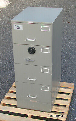 Ammo Storage - File Safe - 500 Lbs - 4 Drawer - Hi Security Combination Lock