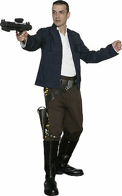 Star Wars Han Solo Costume Empire Jacket, Shirt, Pants Film Set Quality from - Han Solo Kostüm Shirt