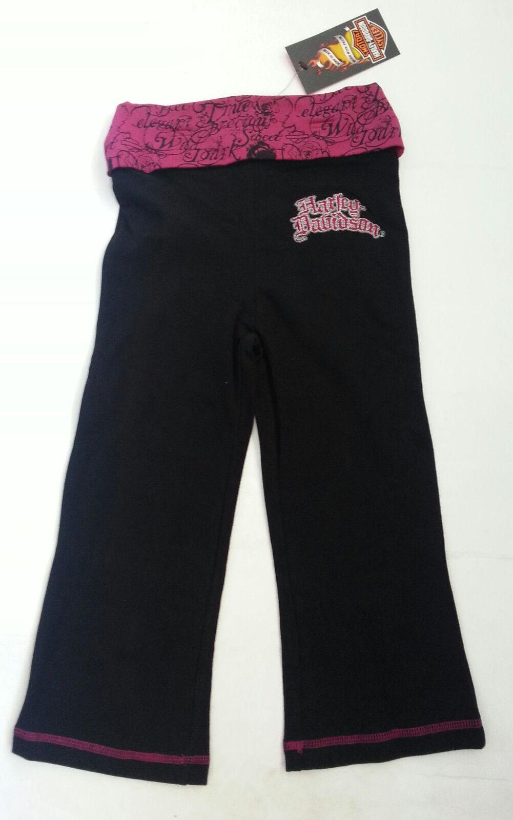 Girls Harley Davidson Yoga Pants - Kids Clothing - Apparel -