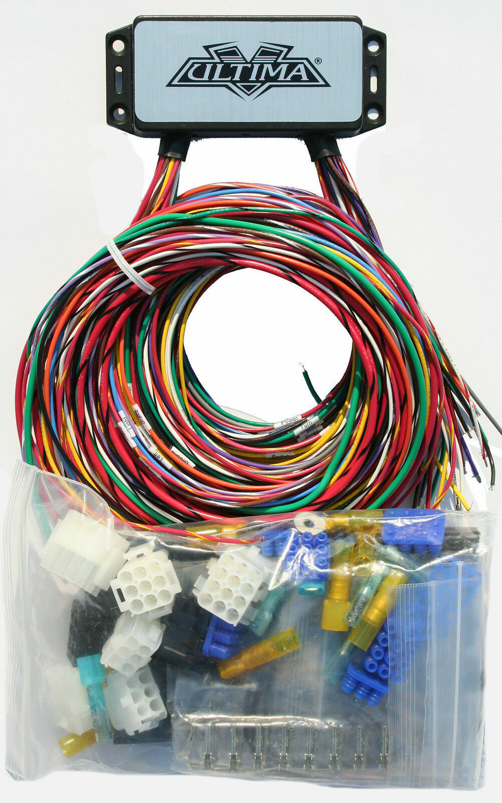 Ultima Plus Compact Electronic Wiring Harness Kit Bobber Chopper Harley on ultima electronic wiring system, ultima motor wiring diagram, ultima harness 18 530,