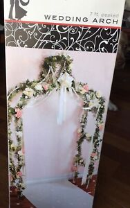 Wedding Arch 7 ft - New in box - event decor