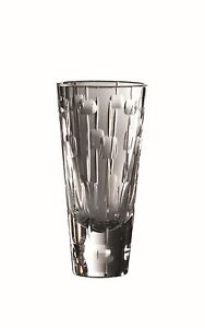 NEW $199 ROYAL DOULTON ABACUS CRYSTAL VASE 20CM - PERFECT WEDDING SPECIAL GIFT