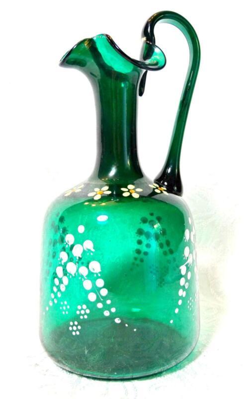Antique Glass Pitcher Ebay