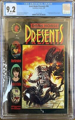 Dark Horse Presents #36 CGC 9.2 with White Pages