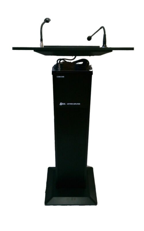 Podium / Lectern Built-in Amplifier & Speaker (Atril y Podio) & Free Shipping!!!
