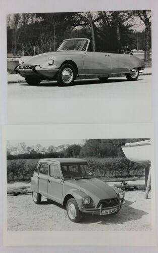1961 Citroen DS Cabriolet Convertible & Dyane Car Photo Original Photos