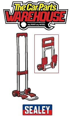 Sealey COMPACT Folding Aluminium Trolley 30kg Lift Fold Flat Sack Truck CST30