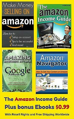 The Amazon Income Guide Bundle (eBook-PDF file)