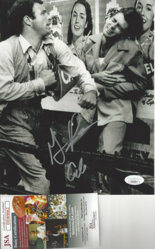 Godfather Gianni Russo (Carlo) autographed fight photo with James Caan JSA Cert