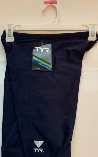 TYR Men's Durafast Elite Solid Jammer Swim Suit