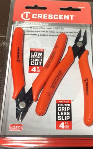 Crescent Precision Miniature Wire Cutter And Pliers Set S2KS