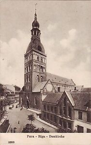 Latvia Russia Riga Рига - Dom old postcard
