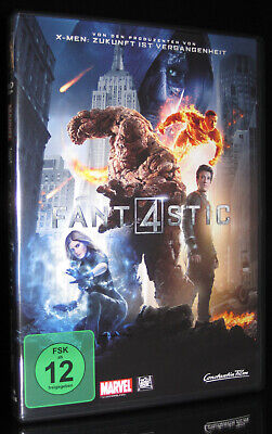 DVD FANTASTIC FOUR (2015) - MARVEL-COMIC-VERFILMUNG - MILES - Superhelden Comics Teller